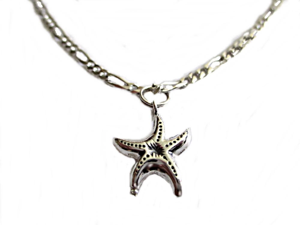 Starfish Plus Size Ankle Bracelet