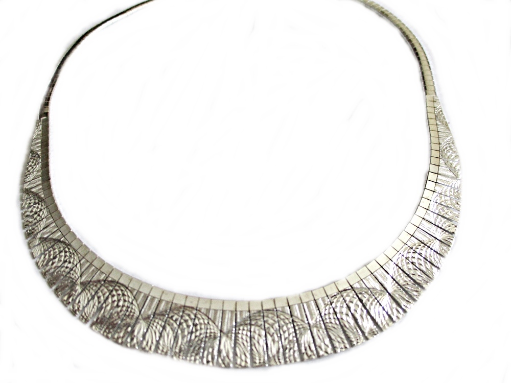 Spirals Italian Plus Size Necklace