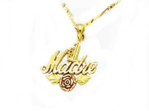 Madre 14k Gold Necklace for Mom
