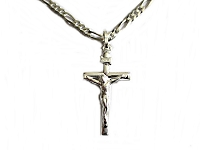 Small Crucifix Plus Size Necklace