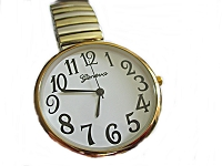 Men's Plus Size Watch Two Tone 8, 9, 10 Inch