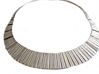 Bars Italian Plus Size Necklace