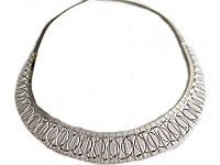 Circles Italian Plus Size Necklace