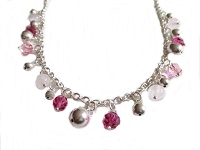 Pink Bead Plus Size Necklace