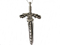Men's Dragon Pendant Necklace Long Chains