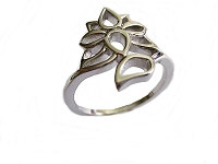 Lotus Large Size Ring Size