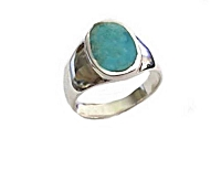 Men's Turquoise Plus Size Ring