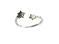 Tiny Stars Plus Size Ring