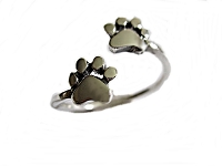 Dog Paws Large Size Ring