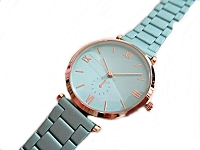 Mint Green and Rose Gold Plus Size Watch