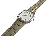 Plus Size Watch Silver Large 8.5 Inch