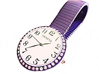 Purple Stretch Plus Size Watch 8, 9, 10 Inch