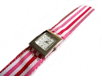 Slap Watch Pink and Red Plus Size Watch