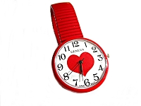Red Heart Large Size Watch Plus Size 8 to 9 Inch