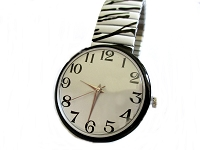 Zebra Plus Size Watch 8 ,9 Inch