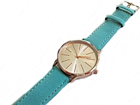 Turquoise Strap Plus Size Watch