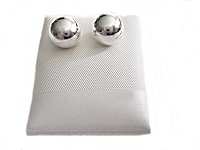 10mm Sterling Silver Ball Earrings